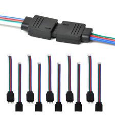10PCS 4PIN Männlich+Weiblicher Stecker Draht Kabel für 3528 5050 SMD LED-Streife