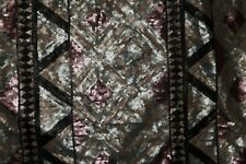 Sequin All Over Black Mesh #184 2-Way Stretch Poly Lycra Fabric BT Half Yard