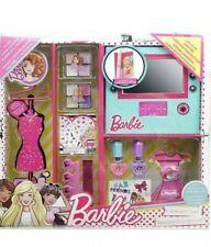 Barbie Fab Beauty Wardrobe Beauty Case U.K Stock