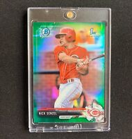 Nick Senzel 2017 Bowman Chrome Green Rookie Refractor RC Non Auto PSA BGS READY