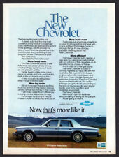 1977 CHEVROLET Caprice Classic Sedan Vintage Original Print AD - Blue car photo