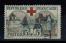 (a2) timbre France n° 156 oblitéré année 1918