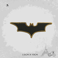 Batman Super Hero Logo Patch Iron On Patch Sew On Embroidered Patch