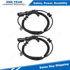 2PCS Front ABS Wheel Speed Sensor For 2006-2008 Ford F-150 Lincoln Mark LT 4WD
