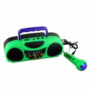 Teenage Mutant Ninja Turtles Portable Radio Karaoke Kit With Microphone