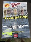 MILLER HIGH LIFE BEER CAN FISHING BOBBERS FLOATS COUNTER DISPLAY 72 COUNT BOX
