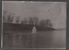 VINTAGE EARLY 1900 CAMBRIDGE MASSACHUSETTS WATER RESERVOIR FOUNTAIN  OLD PHOTO