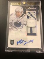 13/14 Rookie Anthology Selections Auto Jersey RC Morgan Rielly Gold /25 Sweet!