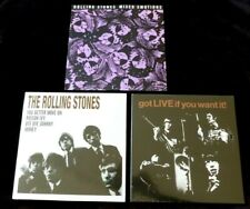 "ROLLING STONES 7"" x 3 Mixed emotions / Got live if you want it!! / You better..."