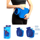 Carex Hot Water Bottle With Cover, Rubber - Heat Therapy and Cold Therapy - F...