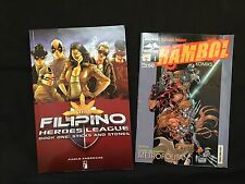 The Filipino Heroes League - Book One: Sticks And Stones / Rambol Komiks #1 Set