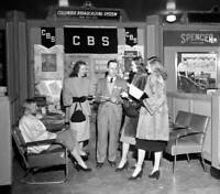 OLD CBS RADIO TV PHOTO Leon Levine Director Of Educational And Public Affairs