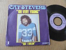 "DISQUE 45T DE CAT STEVENS  "" OH VERY YOUNG """