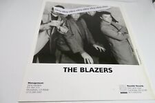 The Blazers East Los Angeles Band Promotional 8x10 Picture B&W