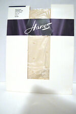 Hanes Pantyhose Tulle Dot Control Top Size AB Nude