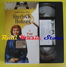 film VHS cartonata SHERLOCK HOLMES I faggi rossi 2002 MALAVASI (F37*) no dvd