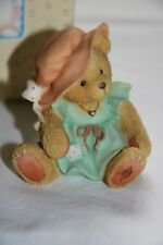 """Cherished Teddies """"A MOTHER´S LOVE BEARS ALL THINGS """" 1993 mit Stuhl"""