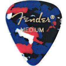 Fender 351 Classic Celluloid Guitar Picks - CONFETTI, MEDIUM 144-Pack (1 Gross)