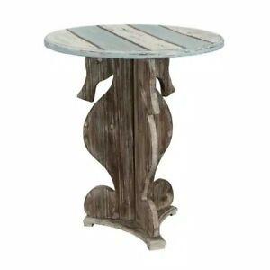 Coast To Coast Seahorse Table With Islander Multicolor Finish 91750
