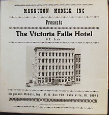 "HO Scale Magnuson Models Inc. ""The Victoria Falls Hotel"" Kit # M-505"