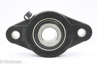 """UCNFL204-12 3/4"""" Inch Bearing Thermoplastic Flanged Cast Housing 2 Bolt 17741"""