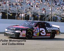 DALE EARNHARDT SR #3 GOODWRENCH CHEVY 1997 LOUDON 8X10 PHOTO NASCAR WINSTON CUP