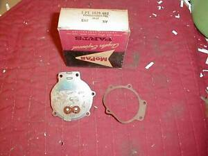 NOS MOPAR 1955-66 SINGLE SPEED WIPER MOTOR SWITCH PLATE