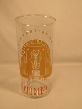 Vintage 1939 New York World's Fair Administration Building Glass