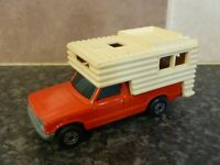 VINTAGE LESNEY MATCHBOX SUPERFAST No.38 CAMPER RED & CREAM VERY GOOD CONDITION