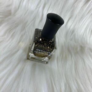 Deborah Lippmann Nail Polish Cleopatra In New York .50 oz Full Size Gold Glitter