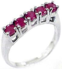 Unbranded Cocktail Ruby Stone Fashion Rings