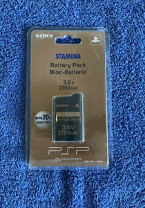 Sony PSP Stamina Console Battery Pack 3.6v 2200mah PSP-280, Sealed