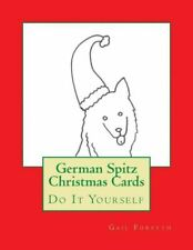 German Spitz Christmas Cards: Do It Yourself
