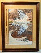 Season of the Eagle Bev Doolittle Limited Edition Lithograph, signed framed