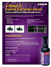 Conklin 4 Power G gas engine, fuel lines and tank, injector cleaner