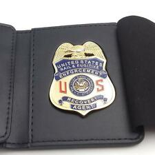 Fugitive Recovery   CUSTOM MADE LEATHER WALLET
