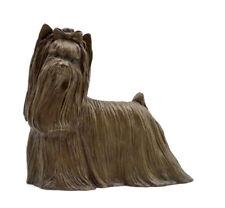 Marcia Van Woert Bronze Yorkie Yorkshire Terrier