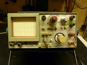 Tektronix 335 35MHz Portable Oscilloscope