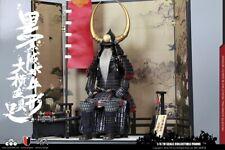 COOMODEL Japanese Samurai Metal ARMOR BLACK BUFFALO ARMOR 1/6 LEGEND VER.