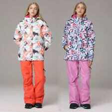 Ski Suit Women Jacket and Pants Waterproof Windproof Skiing and Suits Snow Set