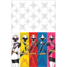 Power Rangers Ninja Steel Plastic Tablecover