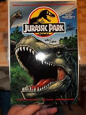 JURASSIC PARK TPB SIGNED GIL KANE 290 OF 1500 WITH DYNAMIC FORCES COA VF-NM COA