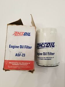 AMSOIL ASF-23 Engine Oil Filter NEW NIB NIP NOS Buick Pontiac Chevrolet Olds GM