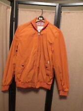 BEN SHERMAN Orange  BOMBER/HARRINGTON JACKET size Medium NWOT