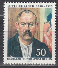 """Berlín (Oeste) Nº 509 ** Lovis Corinth """"incluso retrato"""""""