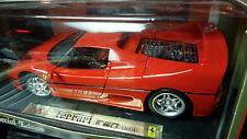 1/18 Maisto Ferrari F50 red closed top NOS mint in SEALED box