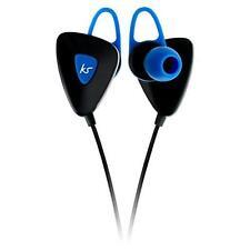 KitSound Trail Sports Earbuds Wireless Bluetooth Headphones Earphones Blue