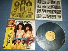 va THREE DEGREES & PHILADELPHIA SOUNDS Japan Only 1973? NM LP +Obi NEW GOLD DISC
