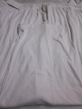 NEW LANE BRYANT WOMENS COTTON/POLY DRAWSTRING ELASTIC WAIST PANTS- WHITE- 5X