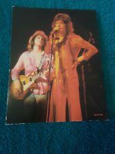 Mick Jagger/Mick Taylor - Original 1973 Rising Signs Large Poster Card